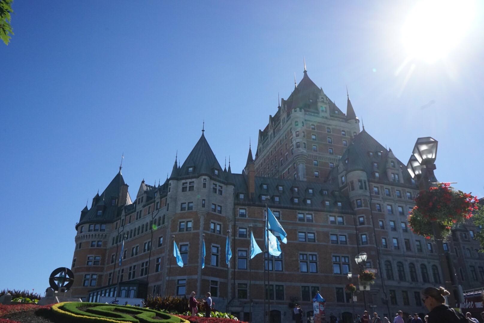 IMG 0003 - 【カナダ ケベックシティ】治安もいいし一人旅におすすめ。本当に北米のヨーロッパだった!