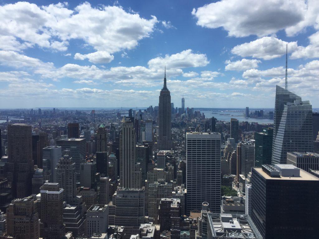 アメリカ。ニューヨーク。