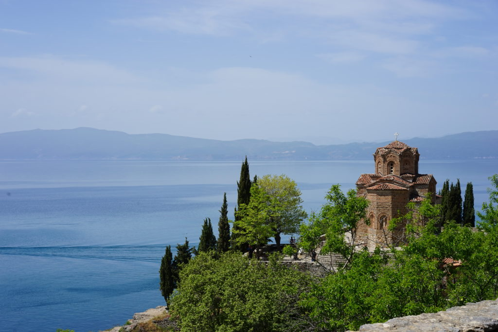 DSC08638 1024x683 - 【北マケドニア オフリド】世界遺産、しかも複合遺産!オフリド湖は最高に気持ちいい。
