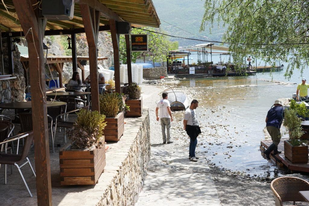 DSC08653 1024x683 - 【北マケドニア オフリド】世界遺産、しかも複合遺産!オフリド湖は最高に気持ちいい。