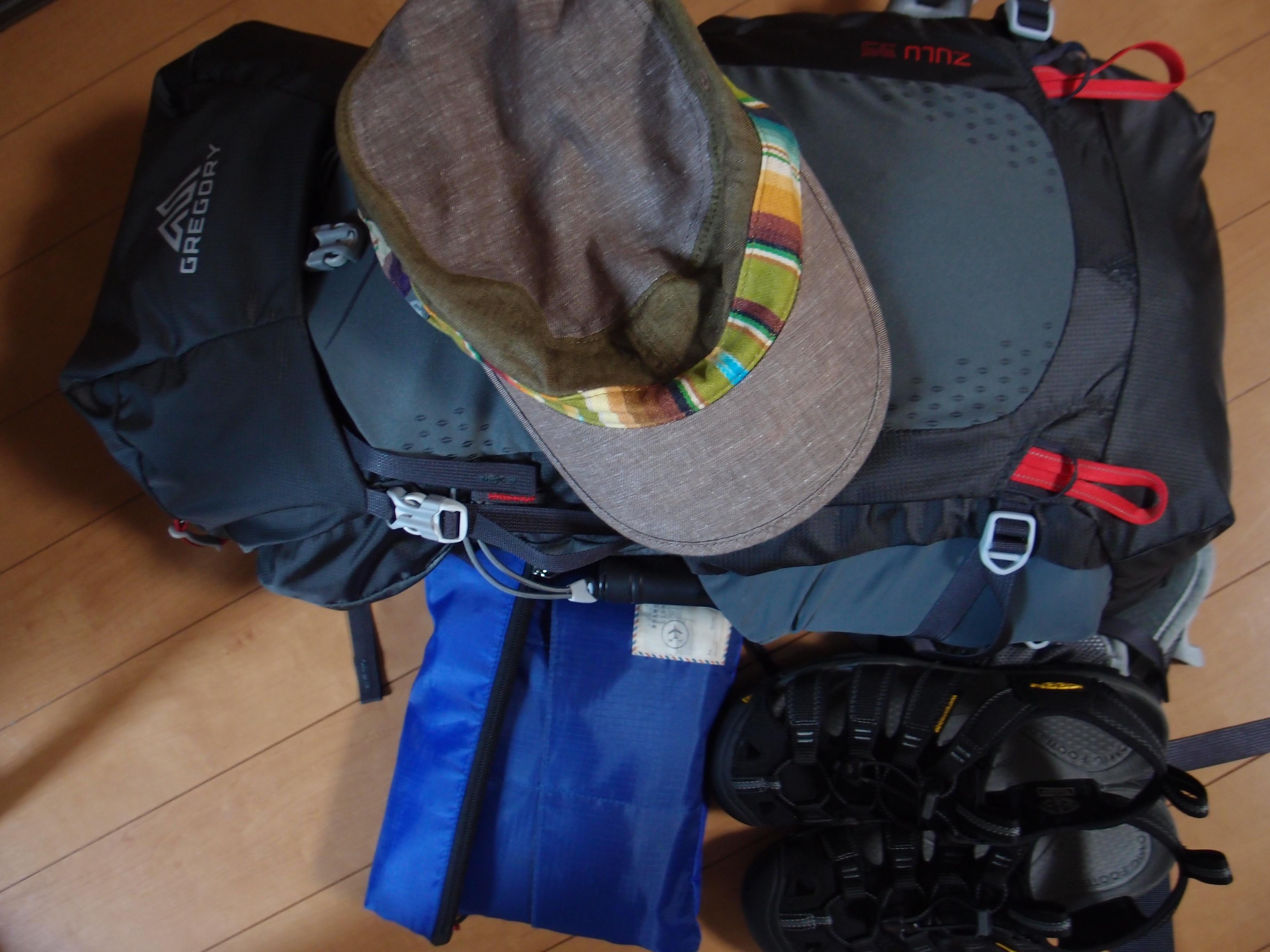 P8121779 - 【2020年】バックパッカー・一人旅初心者へ!バックパックの中身はこんな感じ。バックパックは35Lぐらいがちょうどいい。