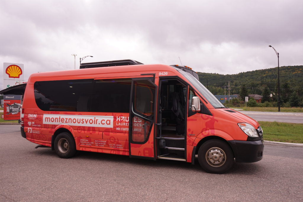 DSC05173 1024x683 - 【カナダ モントランブラン】モントランブランとロレンシャンのひとり旅