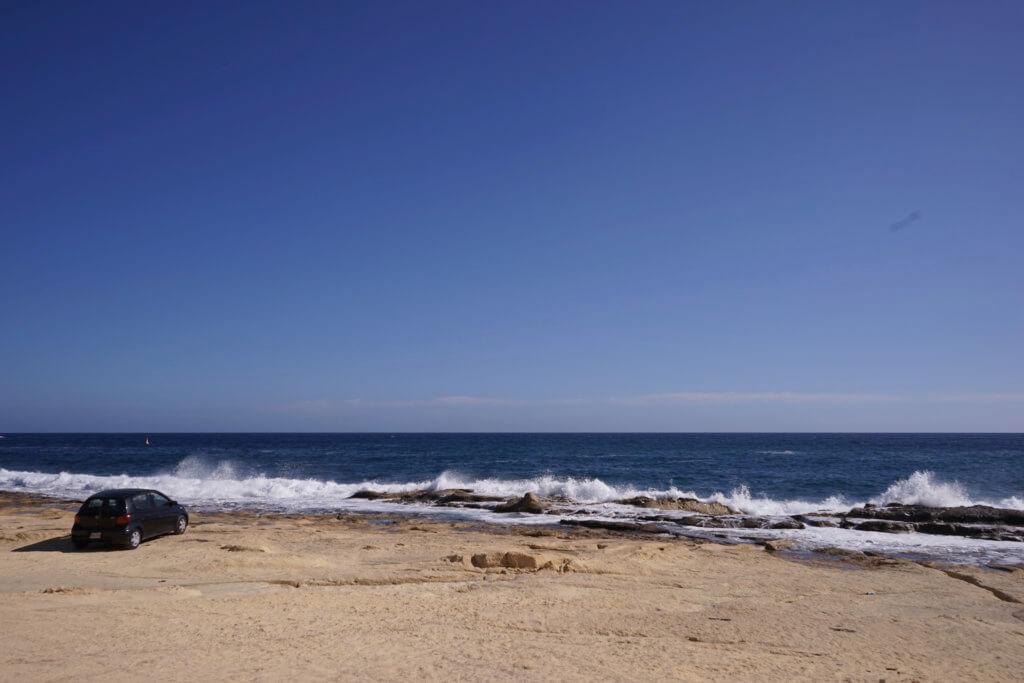 DSC06648 1024x683 - 【マルタ旅行記1】蒼い海と極彩色。他に何かいる?とりあえず歩き方の通りに行ってみた