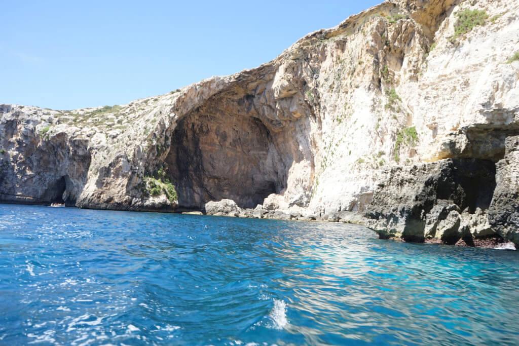 DSC06686 1024x683 - 【マルタ旅行記1】蒼い海と極彩色。他に何かいる?とりあえず歩き方の通りに行ってみた