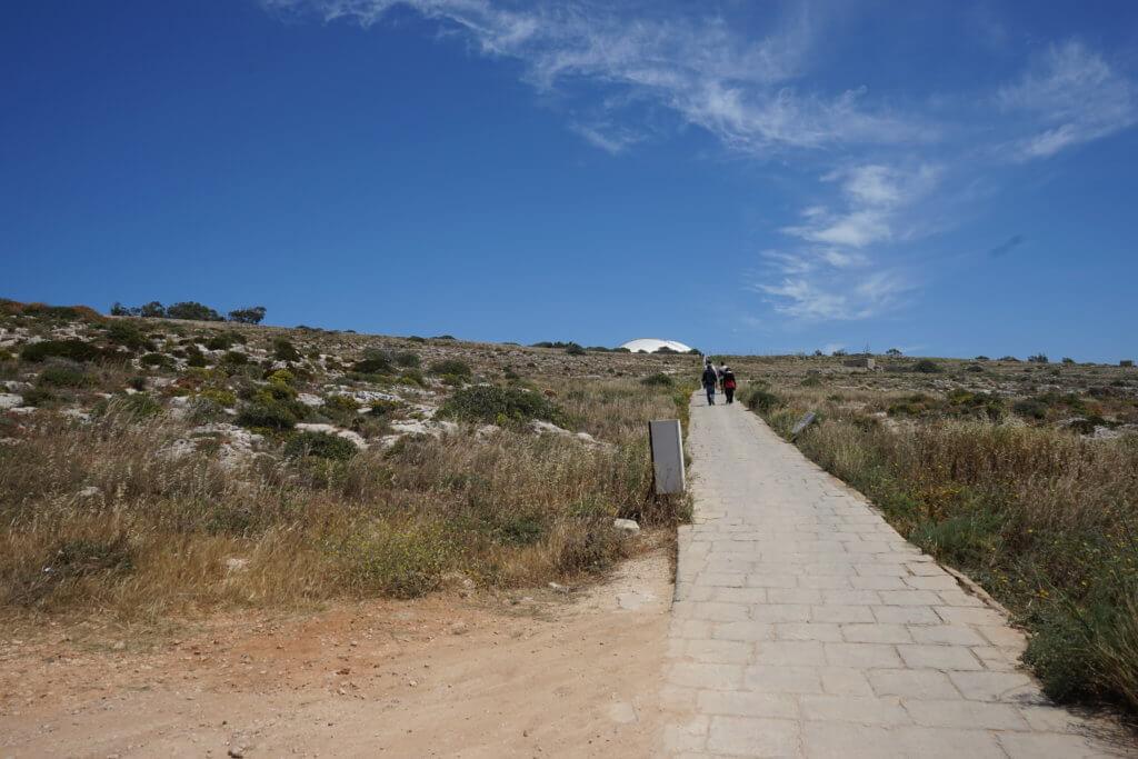 DSC06717 1024x683 - 【マルタ旅行記3】蒼い海と極彩色。他に何かいる?ハジャーイム神殿