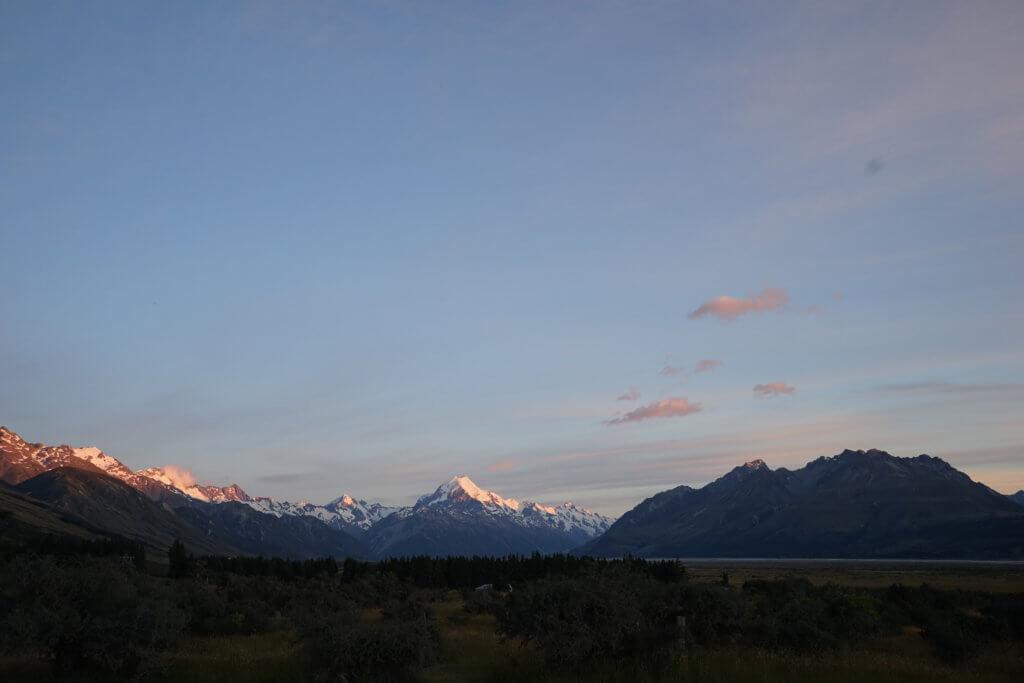 DSC01540 1024x683 - 【ニュージーランド フッカーバレー】登山装備不要。アオラキ/マウントクックを仰ぎながら最高のトレッキング