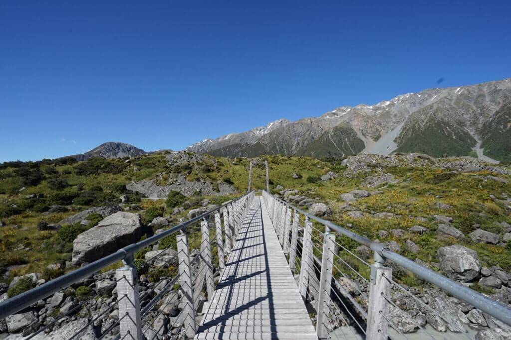 DSC01564 1024x683 - 【ニュージーランド フッカーバレー】登山装備不要。アオラキ/マウントクックを仰ぎながら最高のトレッキング