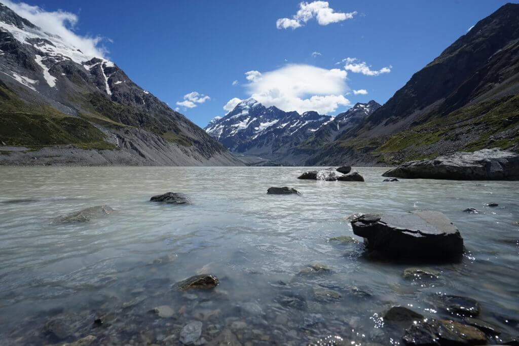 DSC01611 1024x683 - 【ニュージーランド フッカーバレー】登山装備不要。アオラキ/マウントクックを仰ぎながら最高のトレッキング