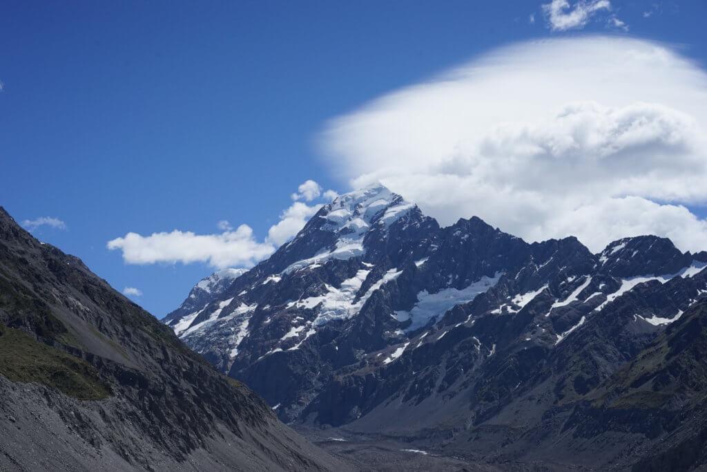 DSC01615 1024x683 - 【ニュージーランド フッカーバレー】登山装備不要。アオラキ/マウントクックを仰ぎながら最高のトレッキング