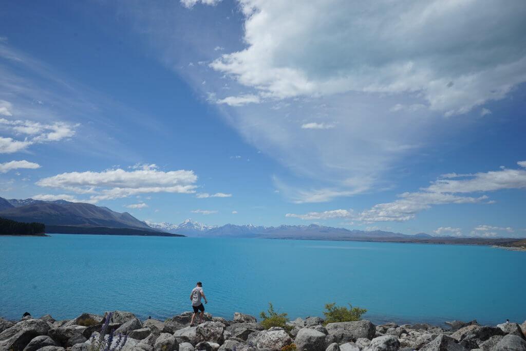DSC01690 1024x683 - 【ニュージーランド】なぜテカポ湖の色は他と違う?行く前に知っておきたい南北の違いと見るべきところ