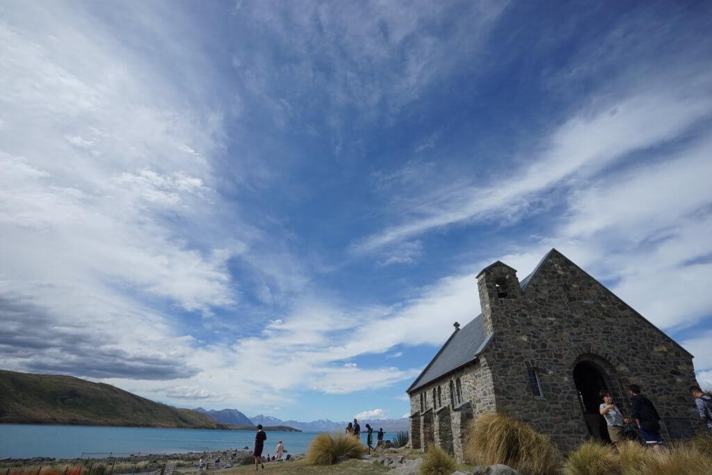 DSC01704 1024x683 - 【ニュージーランド】なぜテカポ湖の色は他と違う?行く前に知っておきたい南北の違いと見るべきところ