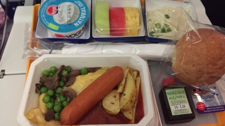 フィジーエアー機内食