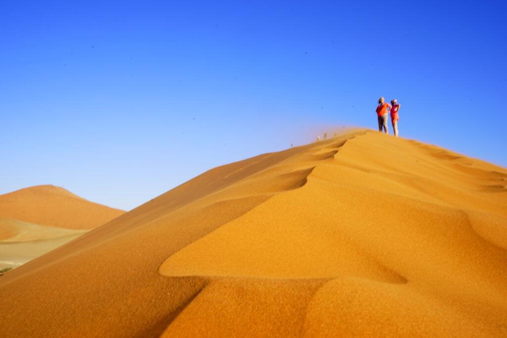 DSC3905 1024x683 - 【ナミビア ナミブ砂漠・セスリム】絵画のような景色。ナミブ砂漠デッドフレイへの行き方