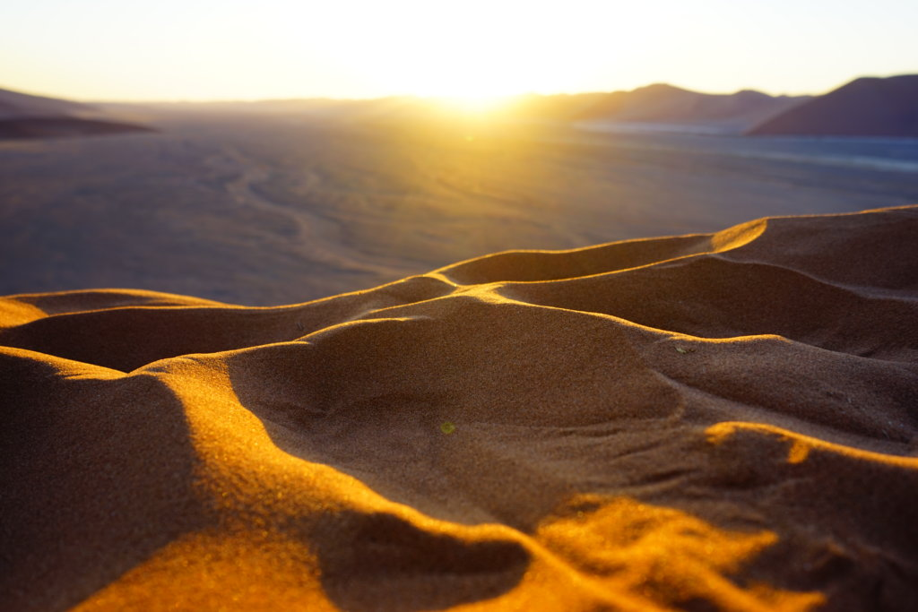 DSC4010 1024x683 - 【ナミビア ナミブ砂漠・セスリム】絵画のような景色。ナミブ砂漠デッドフレイへの行き方