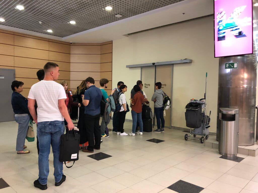 IMG 4978 1024x768 - 【ロシア モスクワ】プライオリティーパスで入られるドモジェドヴォ空港のラウンジ