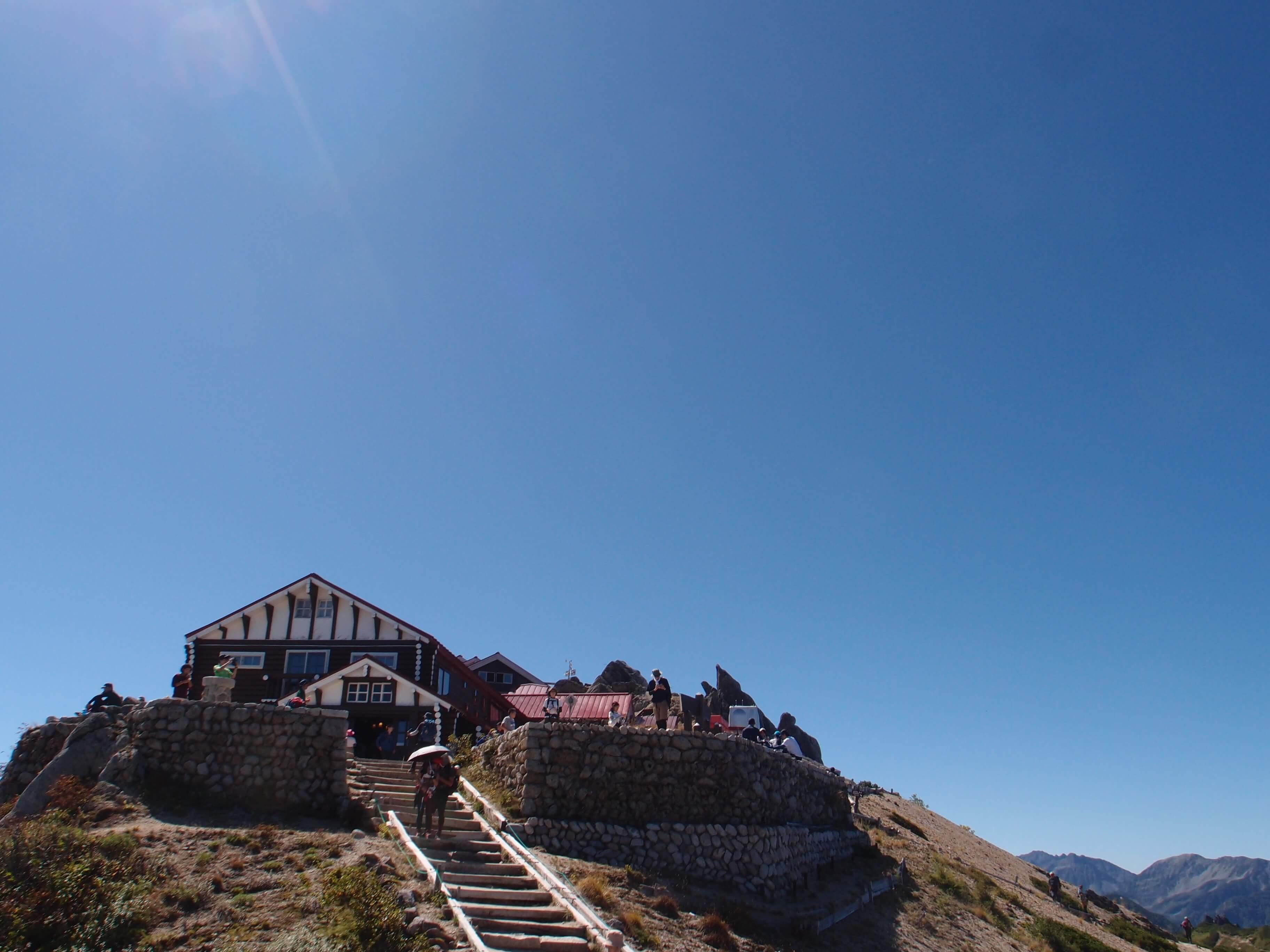 P9140138 - 【燕岳-大天井岳-常念岳-蝶ヶ岳 縦走録(1)】(ほぼ)初めての北アルプス。あの雲の上。輝く槍ヶ岳を眺め続けた最高の山行