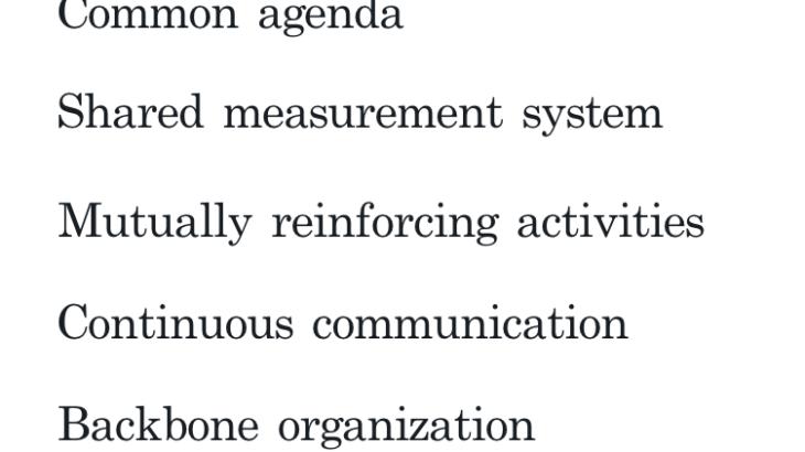 b47f4424ab88ddee9dfbe950af70e90f 730x410 - 社会的課題解決のアプローチ:コレクティブインパクト