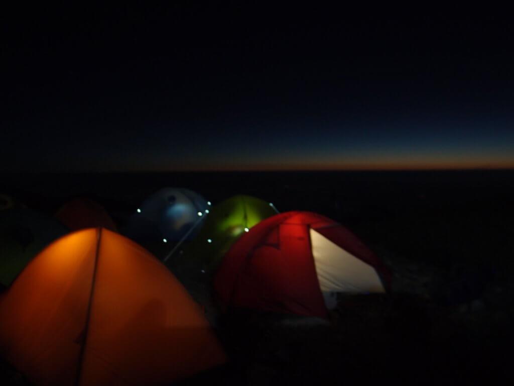 P9150208 1024x768 - 【燕岳-大天井岳-常念岳-蝶ヶ岳 縦走録(3)】街の上、雲の上、太陽の上。
