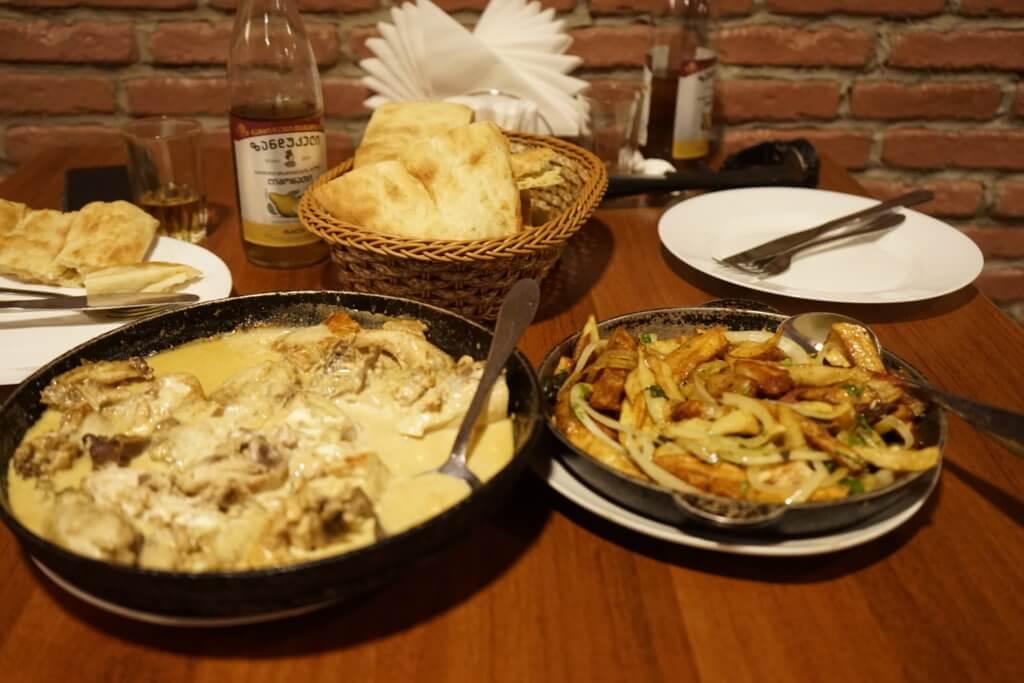 DSC5114 1024x683 - 【ジョージア】安くておいしい食べ物の紹介。ジョージア名物料理たち!