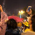 【ペルー クスコ】雨と光と爆竹と。2020年へのカウントダウン(4)アルマス広場のカウントダウン