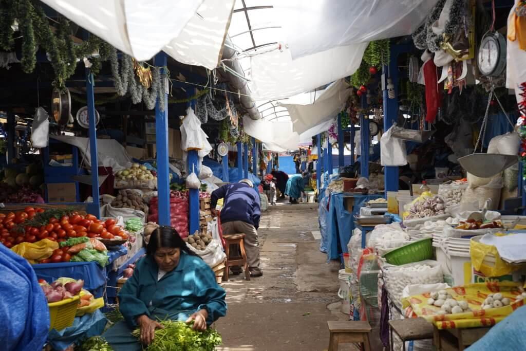 DSC7692 1024x683 - 【ペルー クスコ】クスコ市内の観光の定番。二つの市場と観光モデルコース