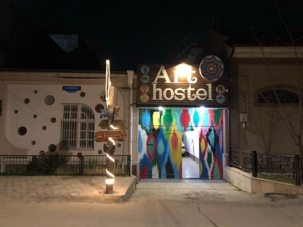 IMG 6133 1024x768 - 【ウズベキスタン タシュケント】タシュケントの居心地最高の日本人宿「Art Hostel」