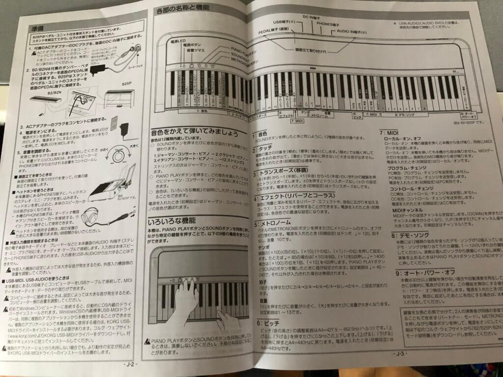 """PHONES T 1024x768 - KORGの電子ピアノ """"B2""""の使用感レビュー"""