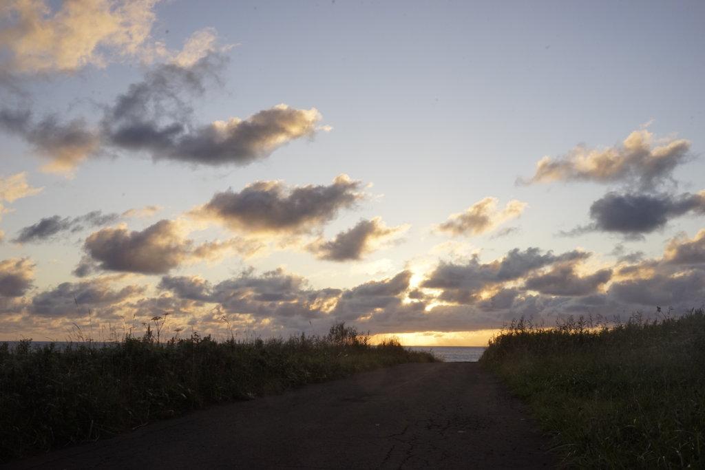 DSC9544 1024x683 - 【北海道 礼文島】なだらかな山と海の絶景(3)-日の出、使われない空港、北のカナリアパーク。