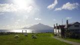 DSC9564 160x90 - 【北海道 礼文島】なだらかな山と海の絶景(3)-日の出、使われない空港、北のカナリアパーク。