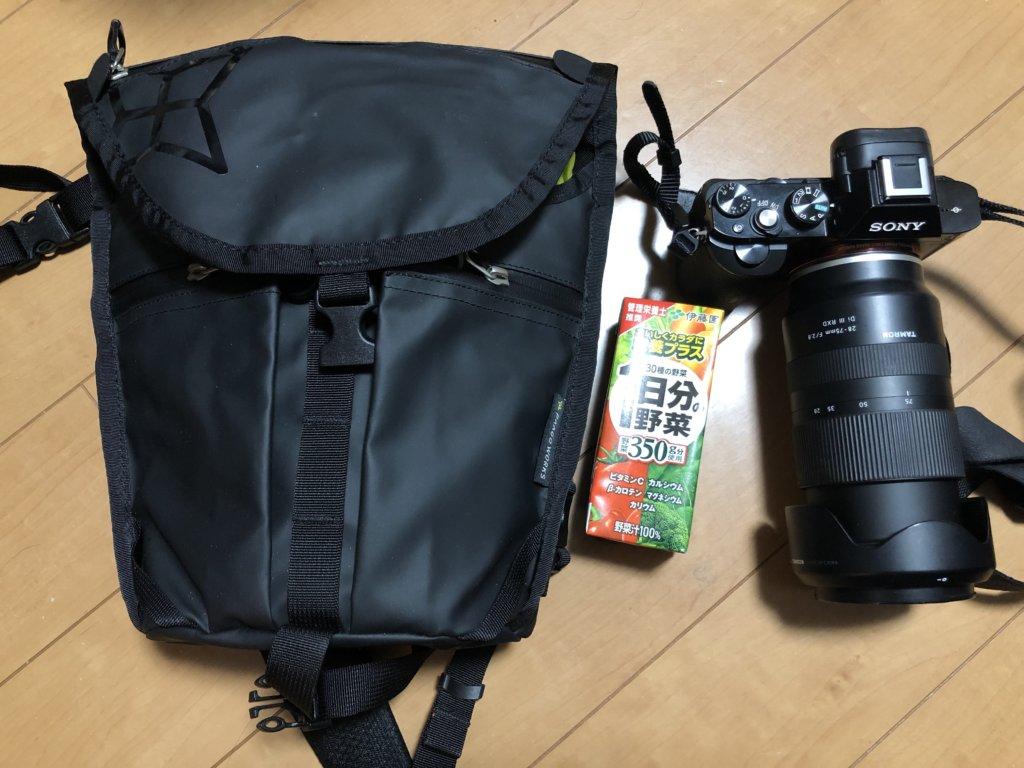 IMG 7769 1024x768 - リュックと併用するカメラバッグ。登山・バックパッカーにとって使いやすいのは?パーゴワークス「フォーカス」のレビュー