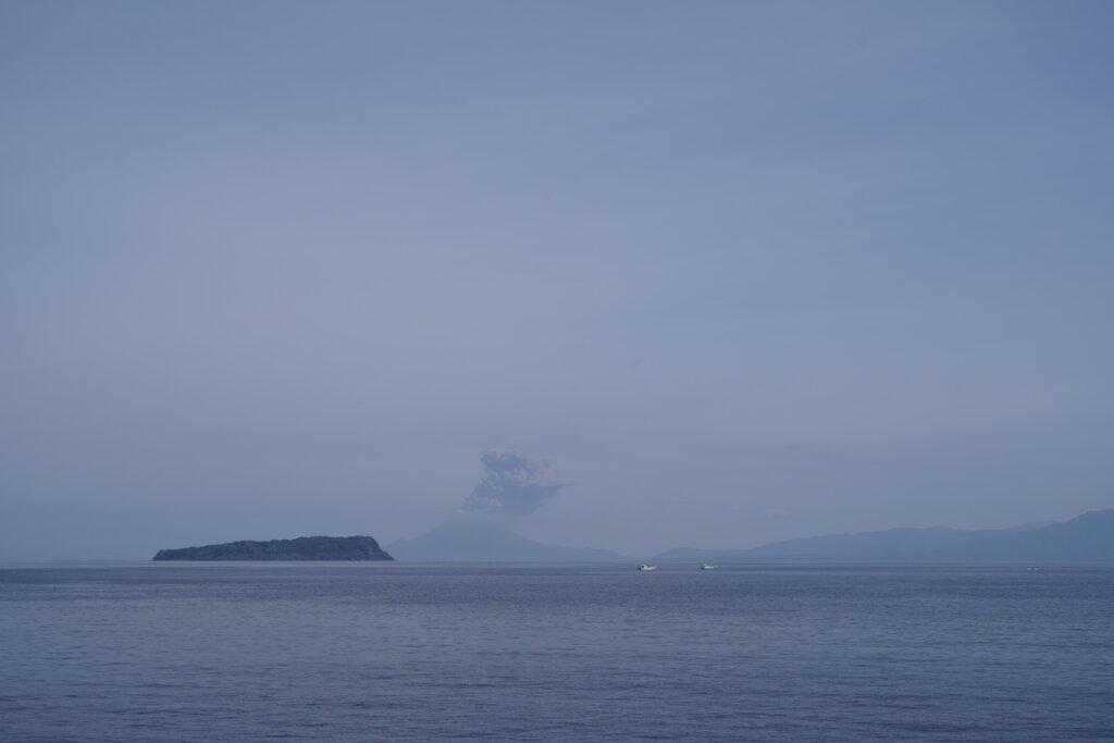 DSC01571 1024x683 - 【鹿児島旅行記2】目指すは開聞岳(の後の指宿の宿)!まずは大隅半島から薩摩半島へのフェリー
