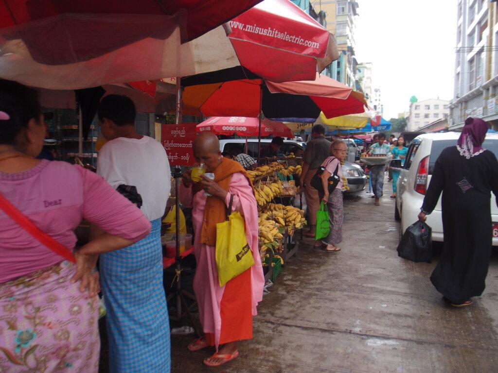 P8141169 1024x768 - 【ミャンマー ヤンゴン】東南アジアなエネルギーのシワに詰まった、夢と永遠と平和とミャンマー