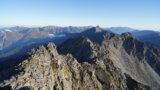 DSC04104 160x90 - 【奥穂高岳→涸沢岳→北穂高岳(2)】パノラマ!まずは奥穂高岳へ登頂、そして涸沢岳へ。